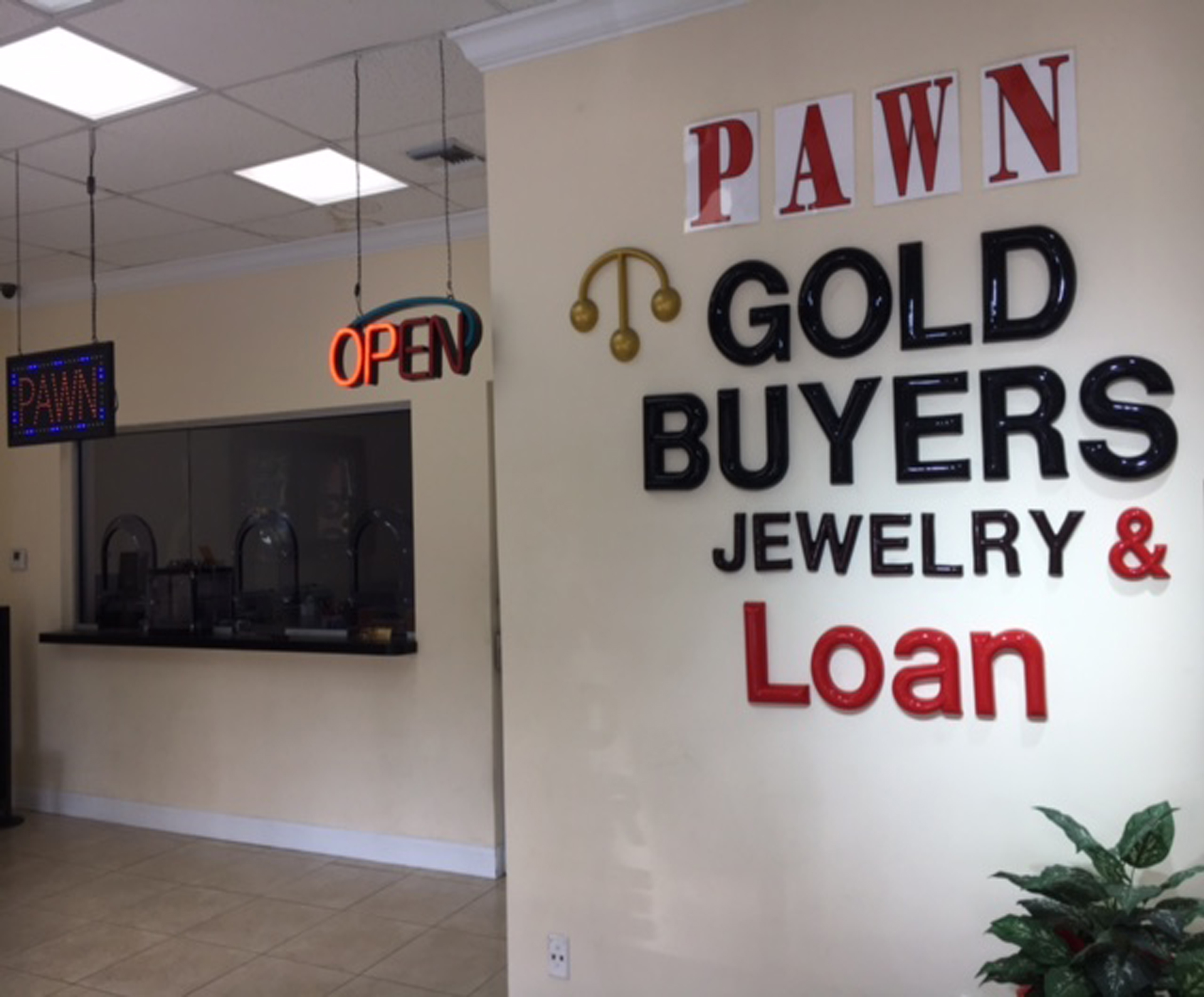 Gold Buyers, Office ,Customer Counter,