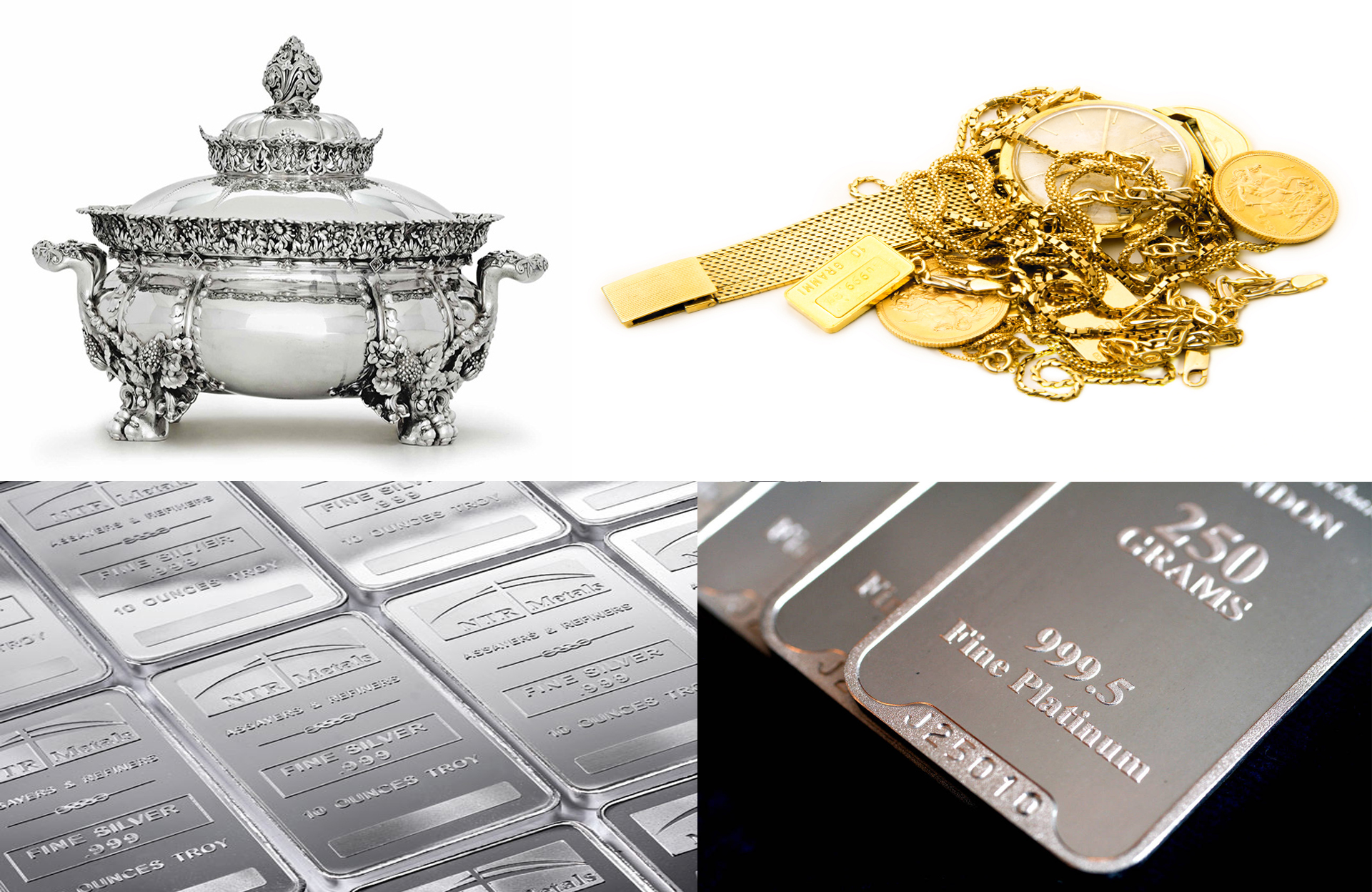Silver, Gold Platinum Pawn and buy